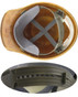MSA SKULLGARD Cap Style Hardhats with STAZ ON Liners - STAZ ON Suspension detail