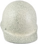 MSA Skullgard (LARGE SHELL) Cap Style Hard Hats with Ratchet Suspension - Textured Stone - Front View