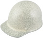 MSA Skullgard (SMALL SIZE) Cap Style Hard Hats with Ratchet Liners - Textured Stone - Oblique View