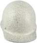 MSA Skullgard (SMALL SIZE) Cap Style Hard Hats with Ratchet Liners - Textured Stone - Front View