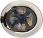 Skull Bucket #SBF-TCM Aluminum Full Brim Safety Hardhats with Ratchet Liners - Black - Ratchet Liner Detail