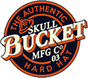 Skull Bucket #ML-SBF-TCM Aluminum Full Brim Safety Hardhats with Ratchet Liners