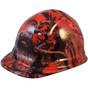 American Camo Orange - CAP STYLE Hydrographic Hardhats