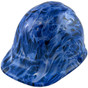 Blue Flames - CAP STYLE Hydrographic Hardhats