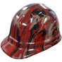 Camo Bootie Red - CAP STYLE Hydrographic Hardhats