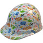 Cartoon Fish - CAP STYLE Hydrographic Hardhats