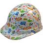 Cartoon Fish - CAP STYLE Hydrographic Hardhats