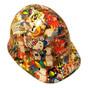 Cartoon Sticker Bomb 2 - CAP STYLE Hydrographic Hardhats