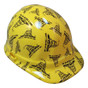 Don't Tread on Me Yellow - CAP STYLE Hydrographic Hardhats