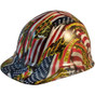 Don't Tread on Me USA FLAG - CAP STYLE Hydrographic Hardhats