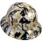 Bootie Girl  - Hydrographic Full Brim GLOW IN THE DARK Hardhats - Ratchet Suspension