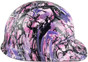 hdhh-782-CS Glamour Hydrographic CAP STYLE Hardhats - Ratchet Suspension  - Right Side View