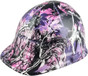 hdhh-782-CS Glamour Hydrographic CAP STYLE Hardhats - Ratchet Suspension  - Oblique View