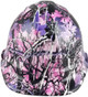 hdhh-782-CS Glamour Hydrographic CAP STYLE Hardhats - Ratchet Suspension  - Front View