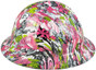 HDHH-1639-FB Maui Vacation FULL BRIM Hydrographic Hardhats ~ Left Side View