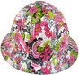 HDHH-1639-FB Maui Vacation FULL BRIM Hydrographic Hardhats ~ Front View