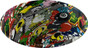 Sticker Bomb 5 Hydrographic CAP STYLE Hardhats - Graphic Detail