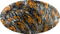 Fighting Tiger Design Full Brim Hydro Dipped Hard Hats - Graphic Detail