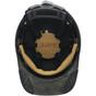 DAX Carbon Fiber Hard Hat - Cap Style Textured Gunmetal Gray ~ Suspension Detail
