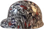 Sweet Home Texas Hydro Dipped Hard Hats Cap Style Design - Ratchet Liner ~ Left Side View