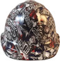 Sweet Home Texas Hydro Dipped Hard Hats Cap Style Design - Ratchet Liner ~ Front View