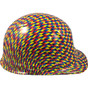 Autism Puzzle Hydro Dipped Hard Hats Cap Style Design with Ratchet Ratchet Liner ~ Right Side View