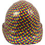 Autism Puzzle Hydro Dipped Hard Hats Cap Style Design with Ratchet Ratchet Liner ~ Front View