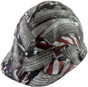 Second Amendment Design Hydro Dipped Hard Hats Cap Style with Ratchet Liner ~ Oblique View