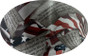 Second Amendment Design Hydro Dipped Hard Hats Cap Style with Ratchet Liner ~ Graphic Detail