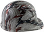 Second Amendment Design Hydro Dipped Hard Hats Cap Style with Ratchet Liner ~ Right Side View