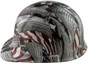 Second Amendment Design Hydro Dipped Hard Hats Cap Style with Ratchet Liner ~ Left Side View