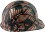 Large Second Amendment Flag Design Cap Style Hydro Dipped Hard Hats ~ Right View