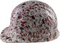 Halloween Massacre Design Cap Style Hydro Dipped Hard Hats ~ Left Side View