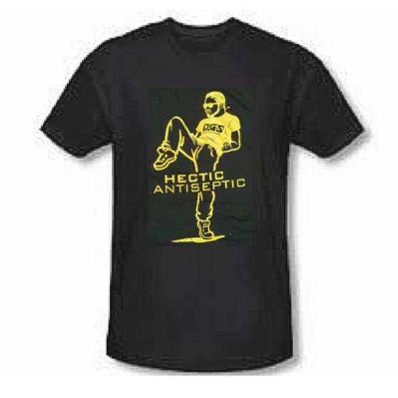 Hectic Antiseptic T-Shirt (Black)