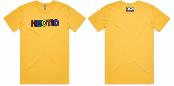 Hectic Carpet T-Shirt - Yellow