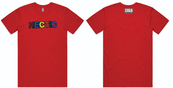 Hectic Carpet T-Shirt - Red
