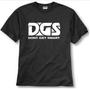 DGS Don't Get Smart Classic Black T-Shirt