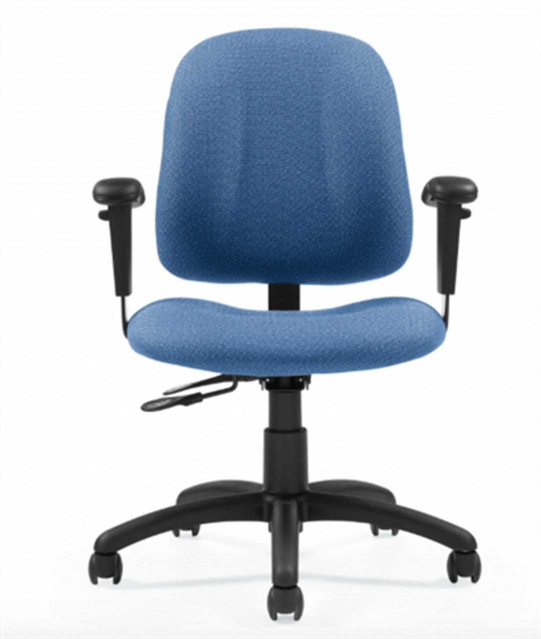 Global Goal Low Back Operator Chair 48-48