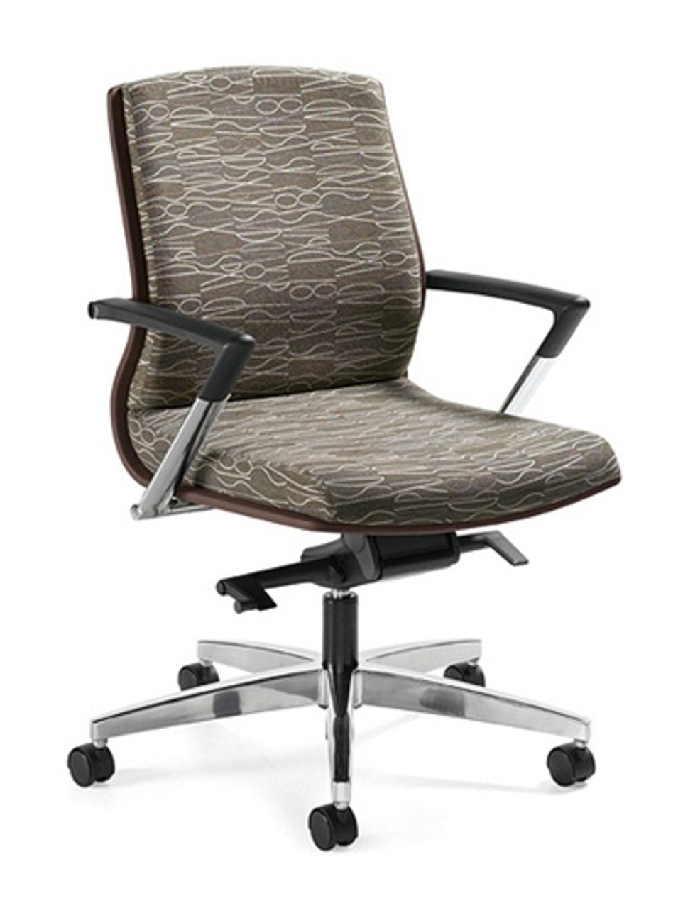Global Priority Mid Back Office Chair 42