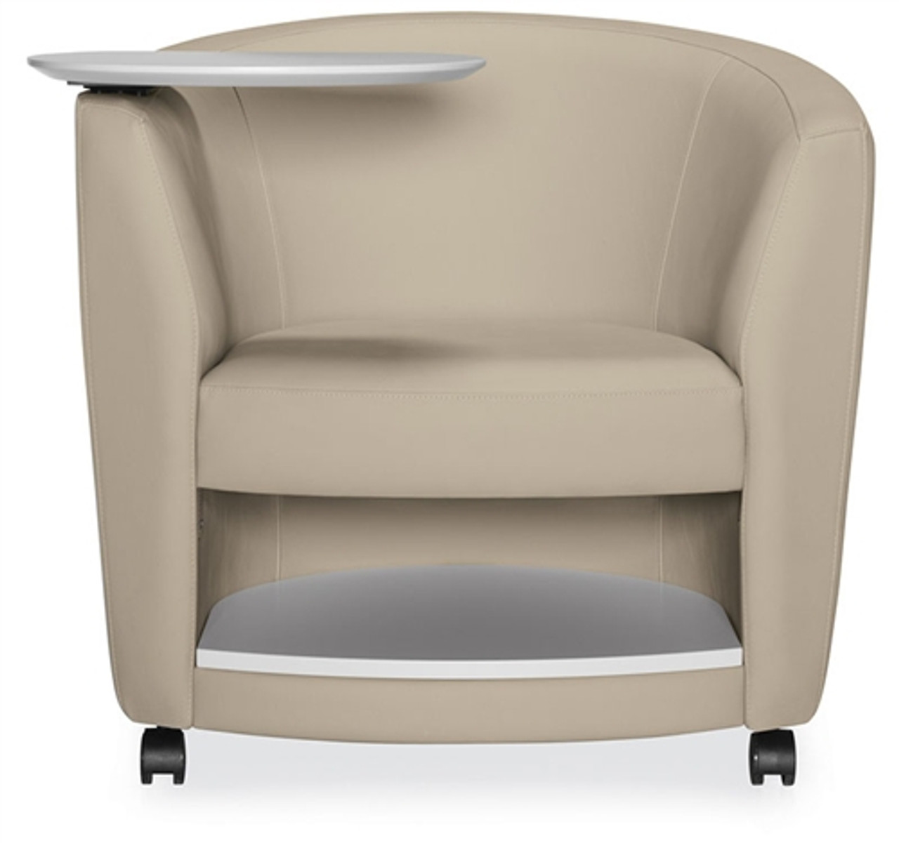 Surprising Global Sirena Mobile Lounge Chair With Tablet Arm And Bottom Shelf 3372Lcmltm Inzonedesignstudio Interior Chair Design Inzonedesignstudiocom