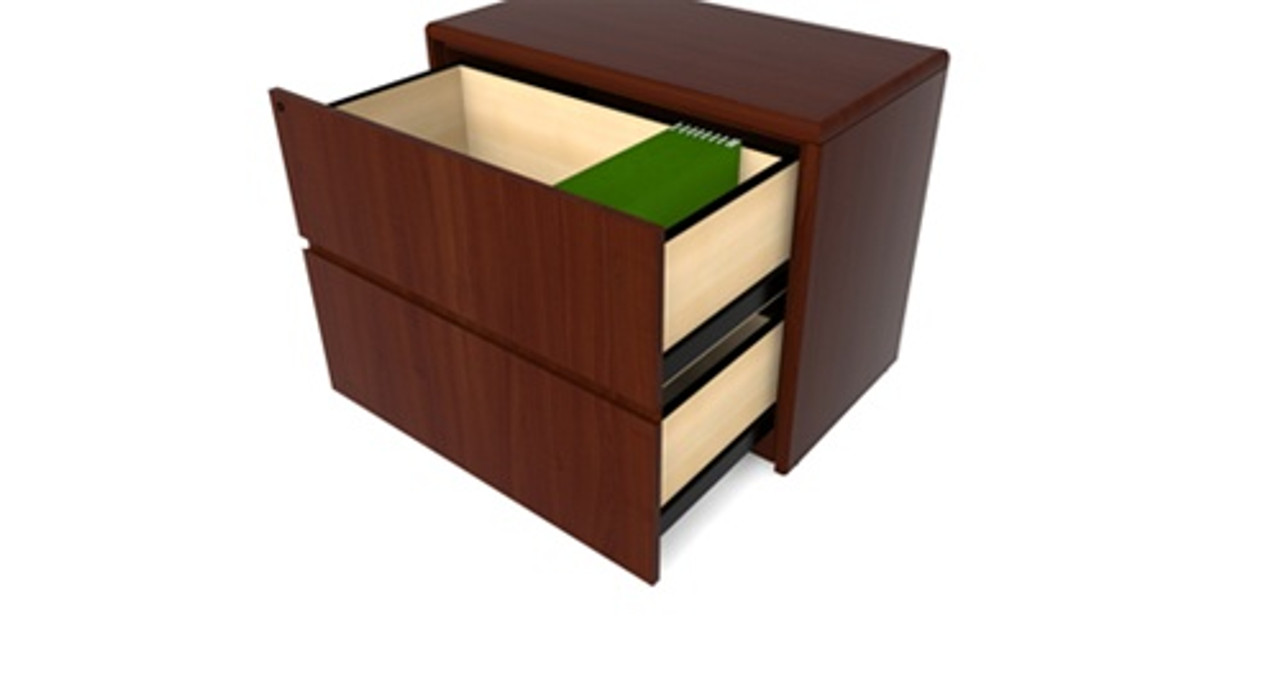 Picture of: Cherryman Ruby Collection Wood Lateral File R827