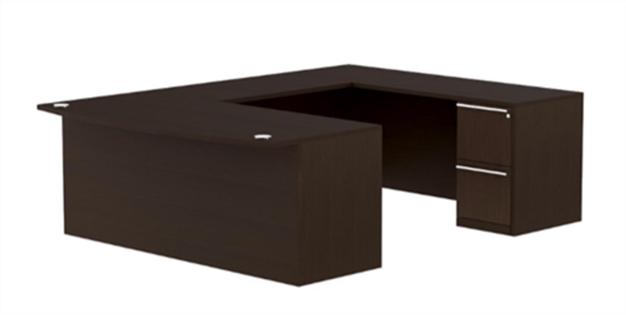 Cherryman Verde VL-648N U Shaped Office Desk (Reversible Design)