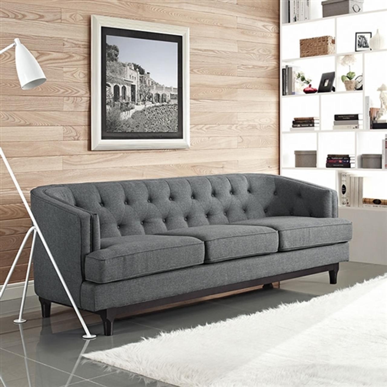 Modway Coast Contemporary Tufted Sofa EEI-2131