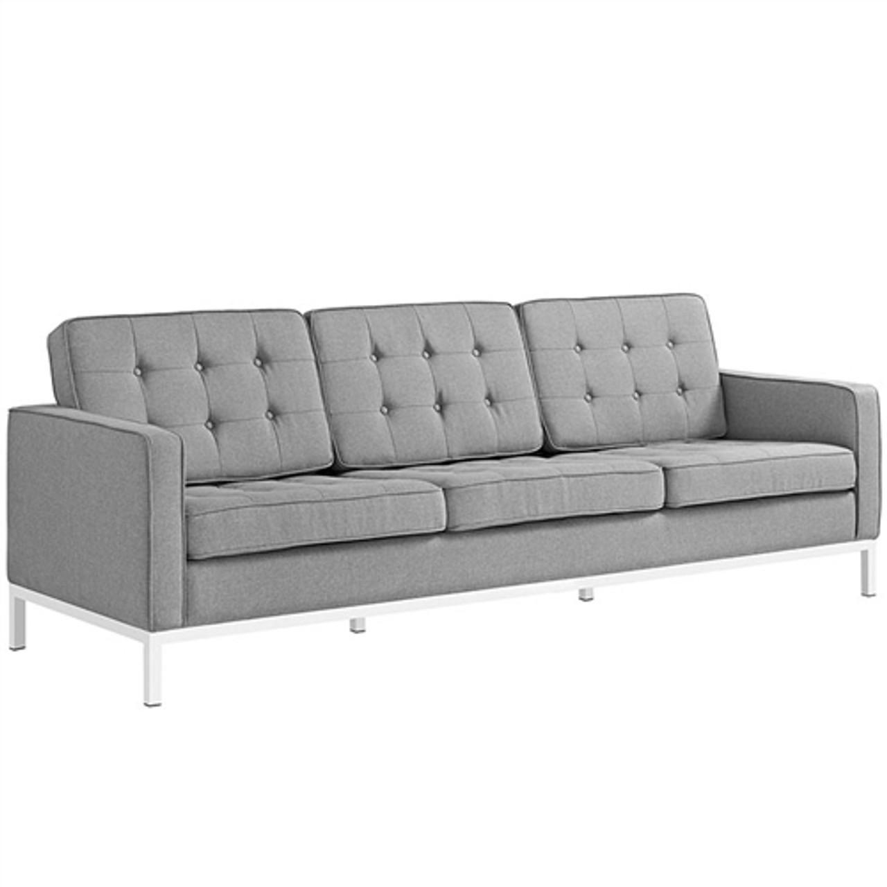 Modway Loft Contemporary Tufted Sofa EEI-2052