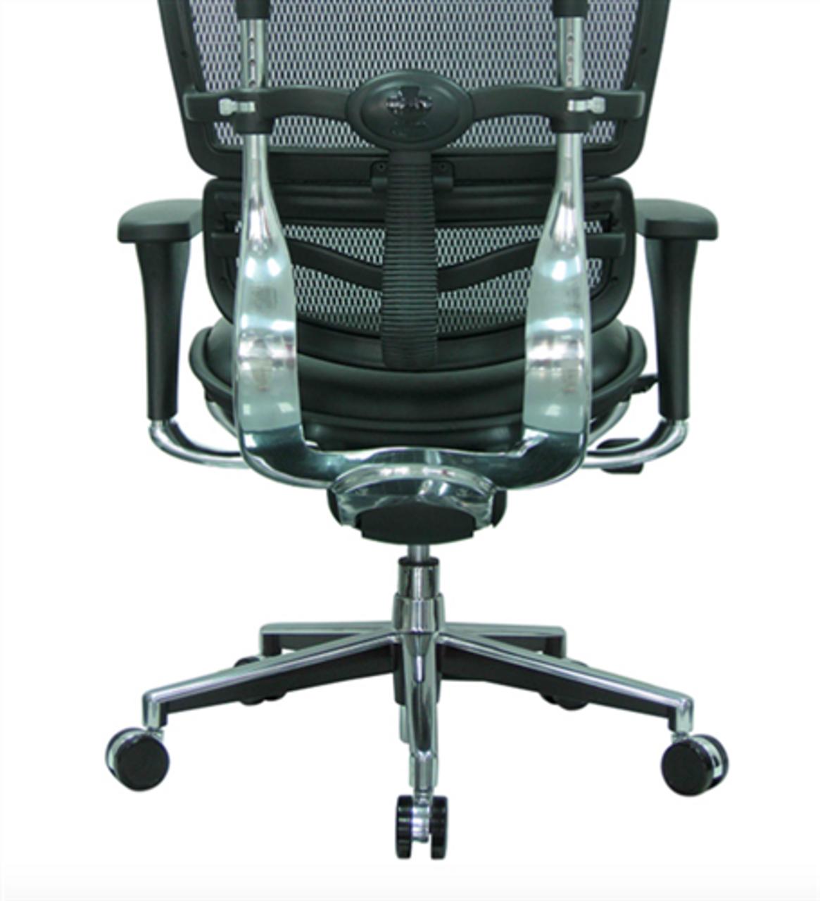 Admirable Eurotech Black Leather And Mesh Ergohuman Office Chair Lem4Erg Ibusinesslaw Wood Chair Design Ideas Ibusinesslaworg