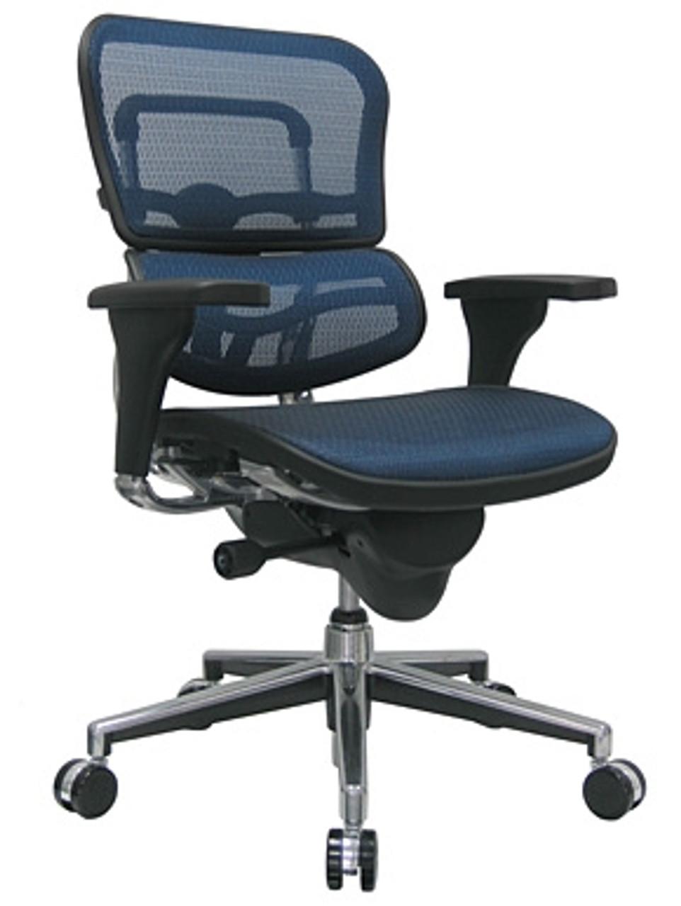 Eurotech Ergohuman Mesh Chair ME446ERGLO (46 Mesh Colors Available!)