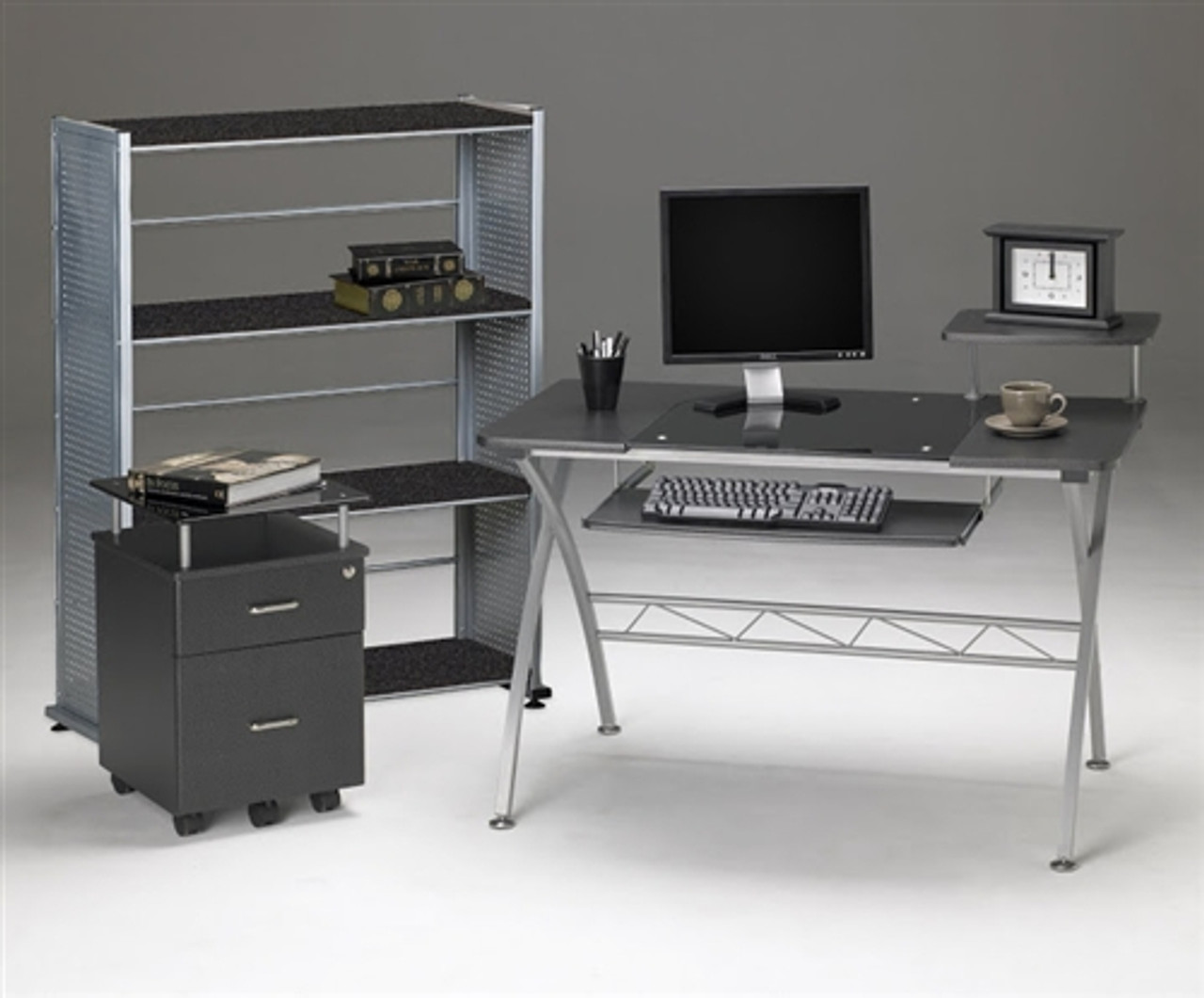 Mayline Small Home Office Furniture Set