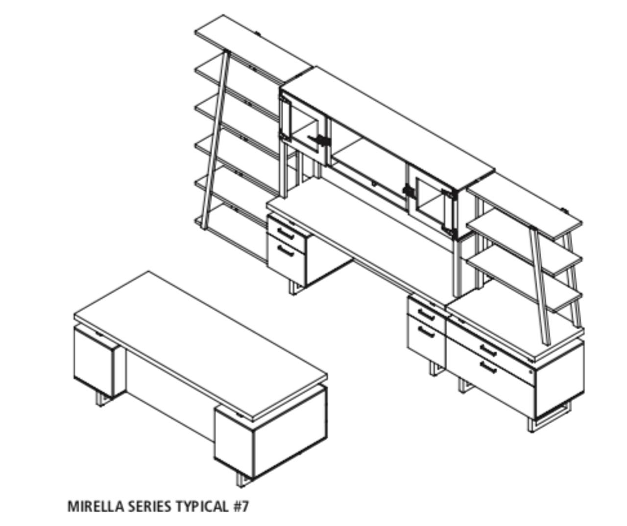 Mirella Collection Executive Safco Suite MR7 yP8w0mnvNO