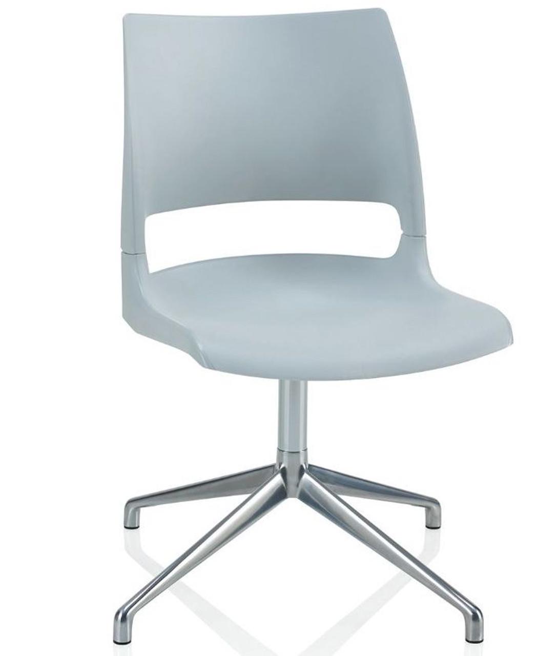 Pleasant Ki Doni Polypropylene Swivel Guest Chair Dnx100 Theyellowbook Wood Chair Design Ideas Theyellowbookinfo