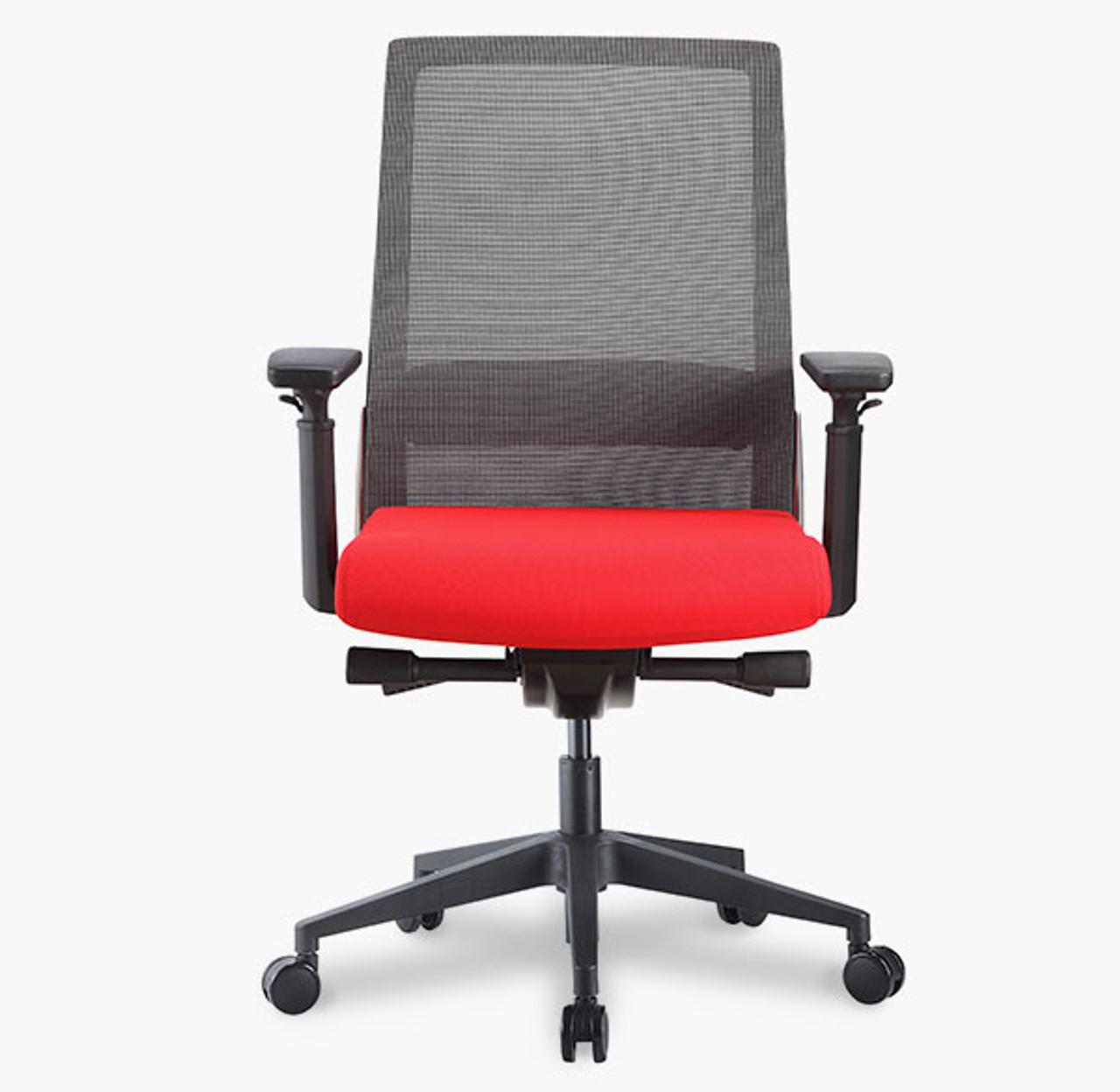 Wyatt Freeride Gray Mesh Back Task Chair